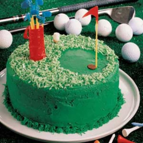 Hole in One Cake