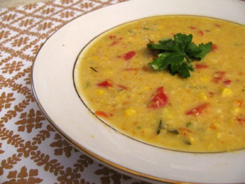 Thai Coconut Corn Bisque