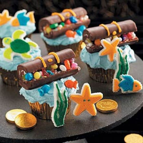 Hidden Treasure Cupcakes