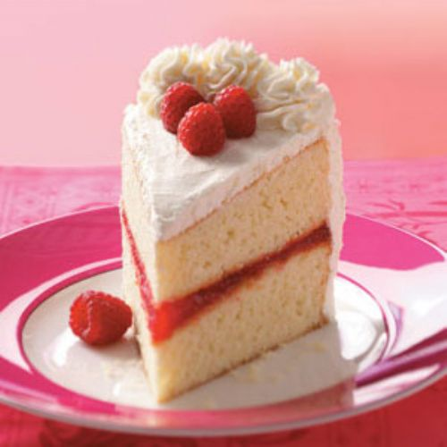 White Chocolate Raspberry Torte