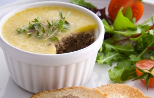 Spiced Chicken Liver Pate