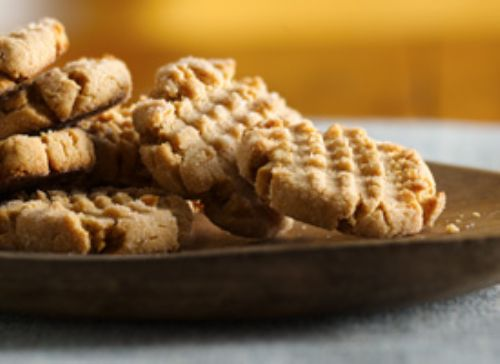 1-2-3 Chewy Peanut Butter Cookies