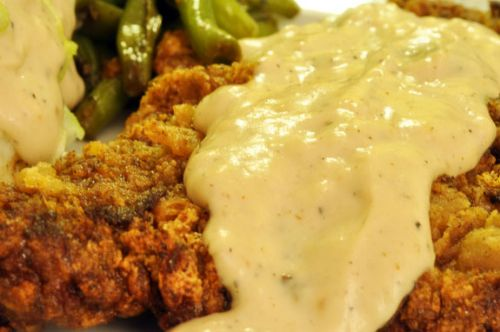 Cream Gravy for Fried Chicken