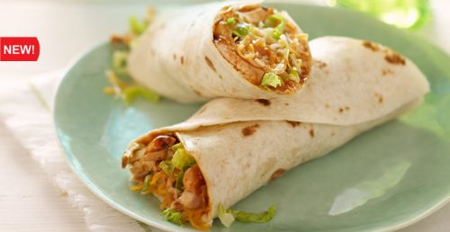 Cheesy Grilled BBQ Chicken Wraps