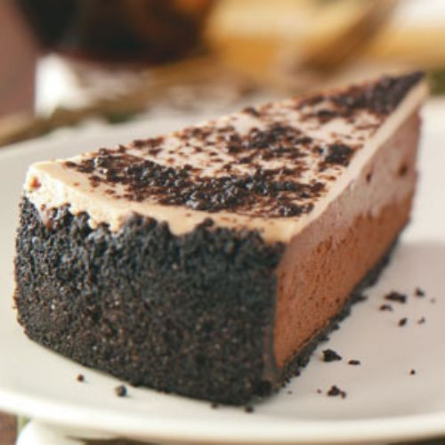 Chocolate Almond Cheesecake