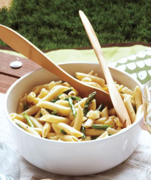 Pasta Salad With Asparagus and Lemon