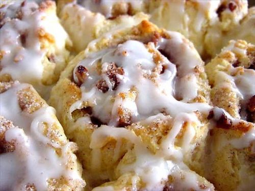 Sweet Cinnamon Biscuits