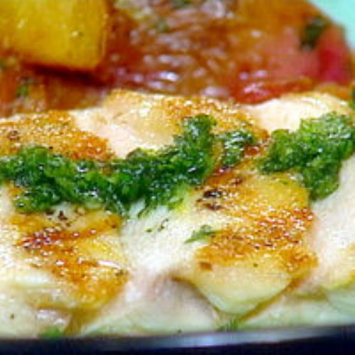 Pan-Grilled Chicken with Gremolata