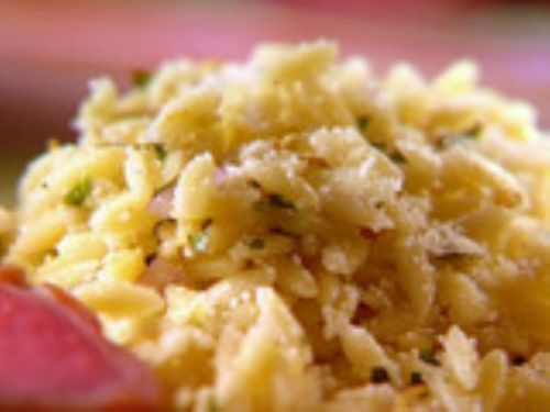 Parmesan Herbed Orzo