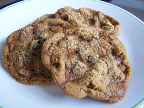 Chocolate Chirpie Chip Cookies