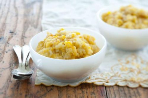Aunt Mary's Sweet Corn Pudding