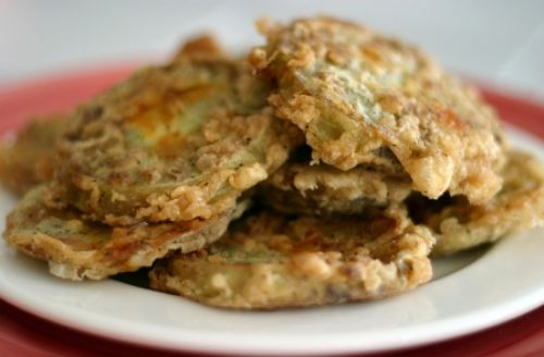Simple Fried Green Tomatoes