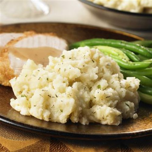 Garlic Rosemary Mashed Potatoes