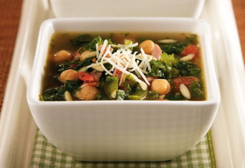 Escarole Soup with Chickpeas
