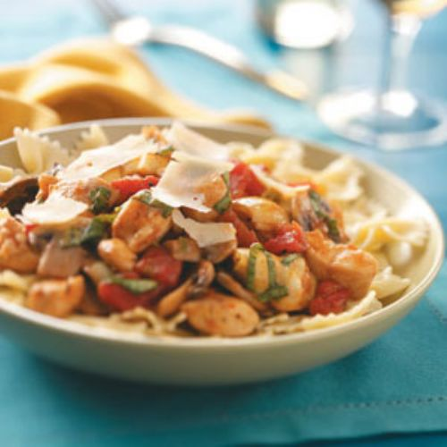 Chicken and Artichoke Pasta