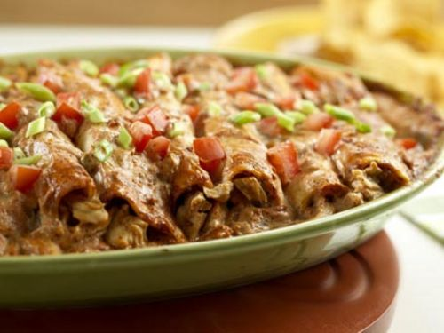 Creamy Chicken Enchiladas II
