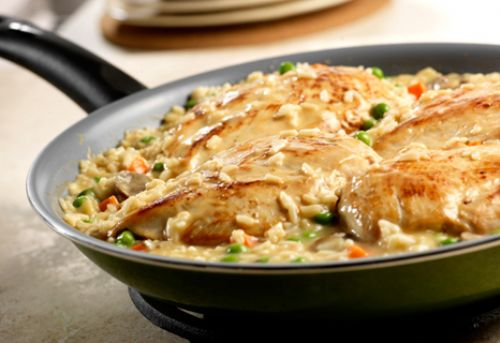 Chicken & Roasted Garlic Risotto