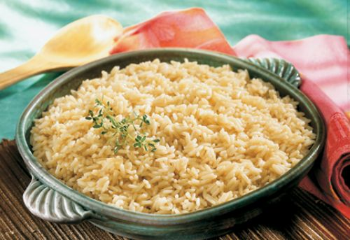Broth Simmered Rice