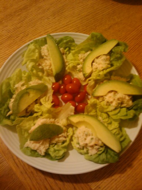 Crab & Avocado Lettuce Cups