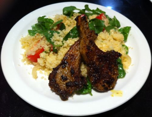 Moroccan Lamb with Couscous Salad