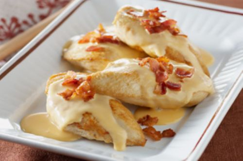 Down-Home Cheesy Bacon Chicken