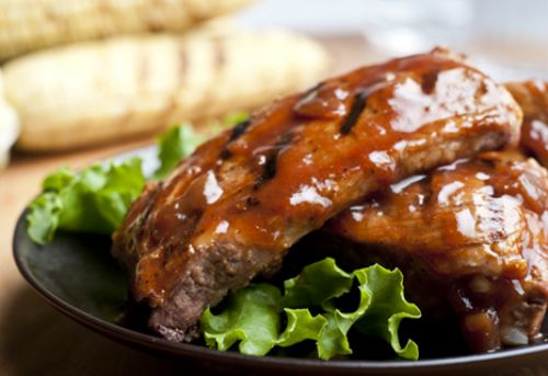 Honey Barbecued Ribs