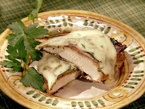 Paula's Baked Ham and Cheese Chicken