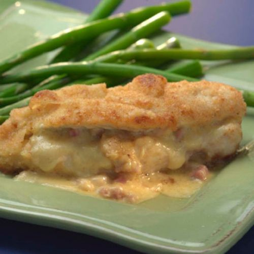 Ham and Cheese-Stuffed Chicken Breasts