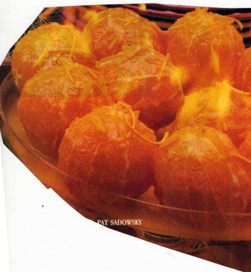 Flaming Oranges
