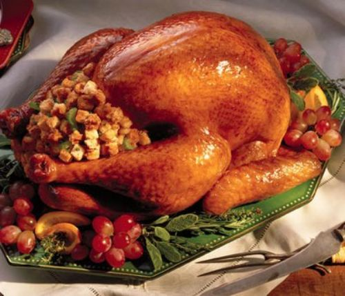 "Dave Maynard's ""Bottom's Up"" Turkey Recipe"