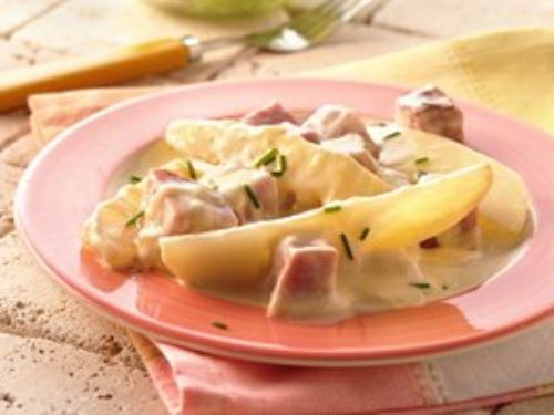 Grilled Ham and Potatoes au Gratin Packs