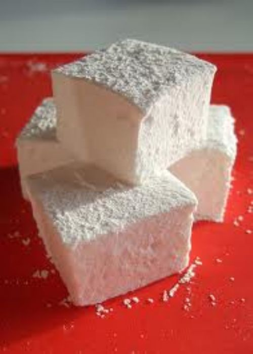 Fluffy Marshmallow Squares