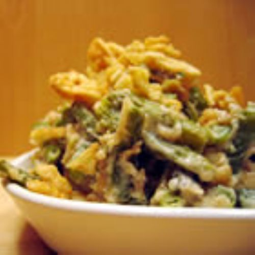 My own secret green bean casserole
