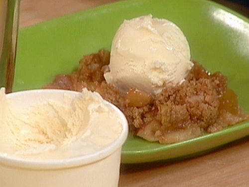 Kathy's apple crisp