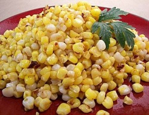 Sauteed corn with Chipotle-Lime Butter