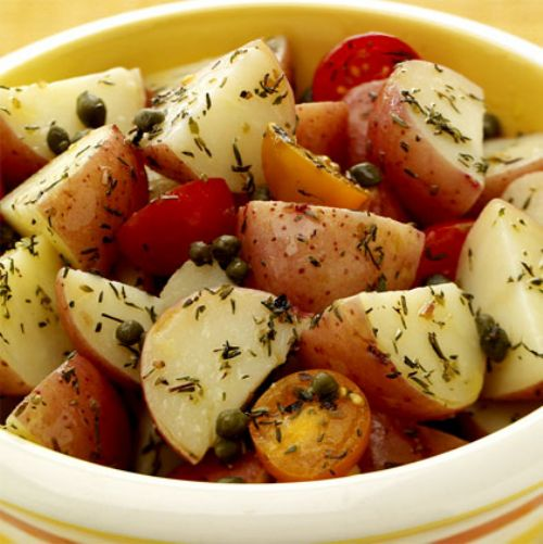 Mediterranean Herb Potato Salad