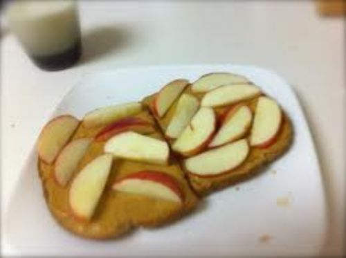 Peanut Butter and Apple Toast