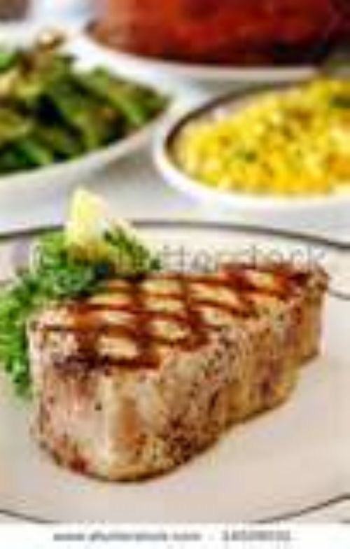 Swordfish with Lime-Ginger glaze