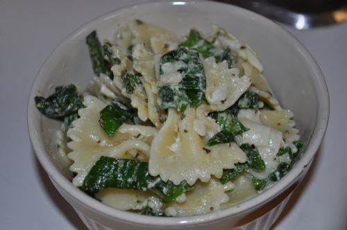 Sue's Basil Spinach Pasta