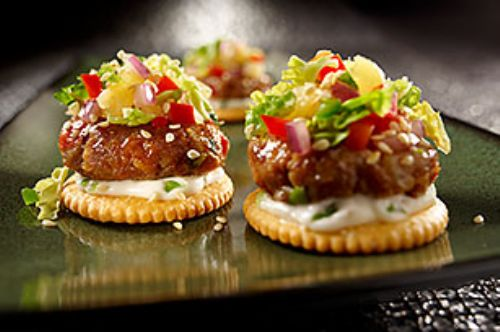 Guy Fieri's RITZ Big Island Pork Bites