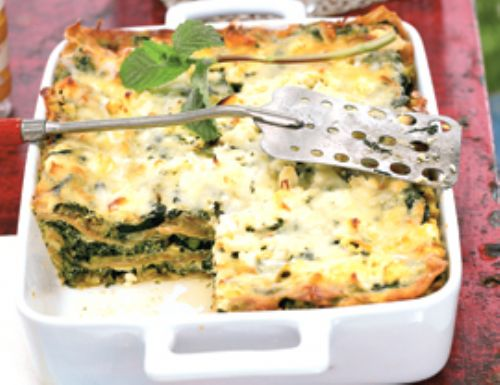 Three-Cheese Zucchini Lasagna