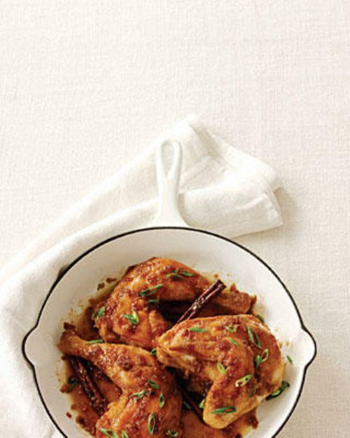 Honey-Soy Skillet Chicken