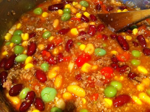 Super easy Chilly Con Carne