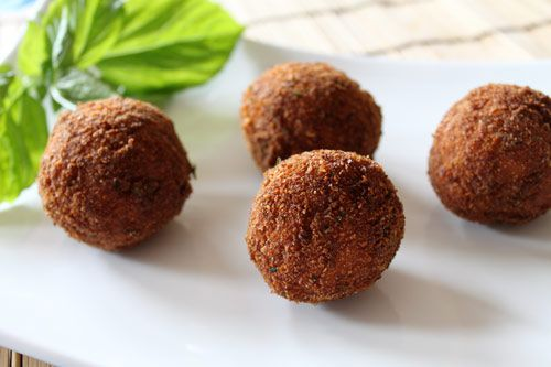 Arancini – Fried Italian Rice Balls