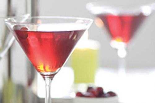 Double-Berry Martini