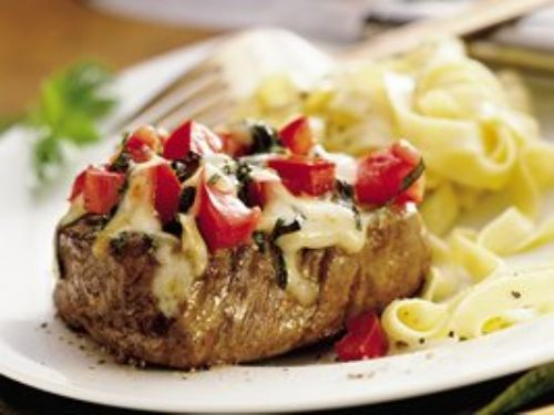 Cheesy Italian Tenderloins
