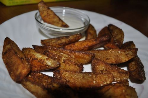 Spicy Oven Fries