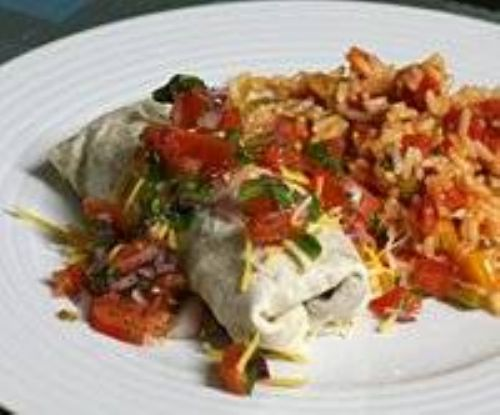 Beef and beans Burritos