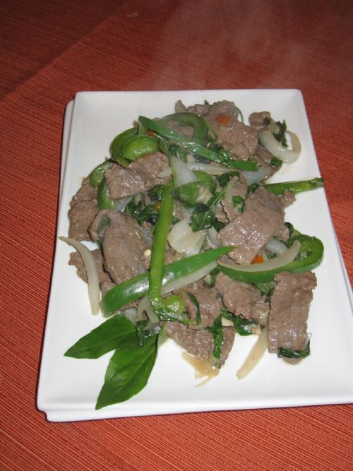 Thai Beef with Chili and Basil
