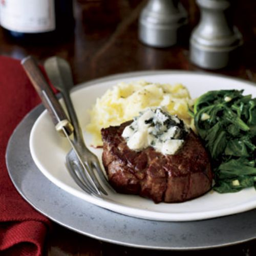 Filet Mignon with Roquefort